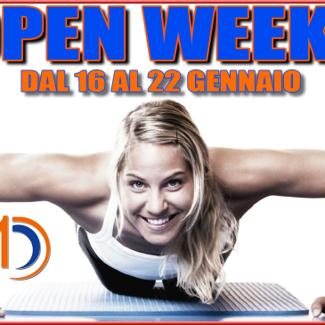 OPEN WEEK EMMECENTO