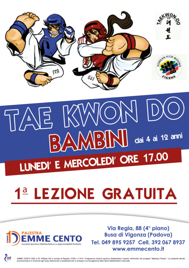 TAE KWON DO bambini copia